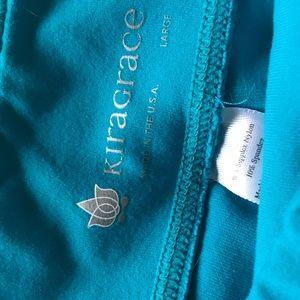 KiraGrace blue yoga pant